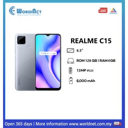 "Realme C15 6.5"" 4GB RAM + 128GB ROM 6000mAh"