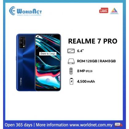 "Realme 7 Pro 6.4"" 8GB RAM + 128GB ROM 4500mAh"