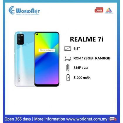 "Realme 7i 6.5"" 8GB RAM + 128GB ROM 5000mAh"