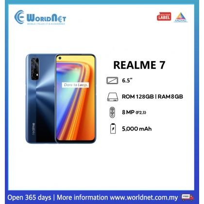 "Realme 7 6.5"" 8GB RAM + 128GB ROM 5000 mAh"