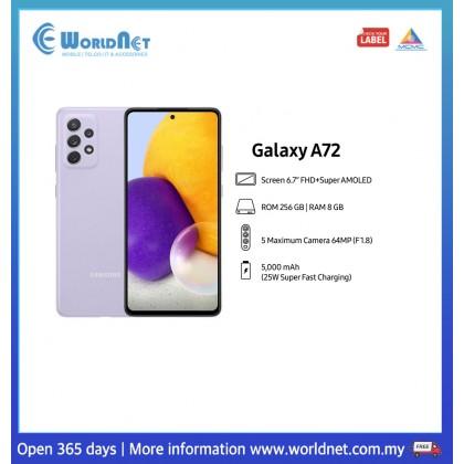"Samsung Galaxy A72 A725 6.7"" 8GB RAM + 256GB ROM 5000 mAh"