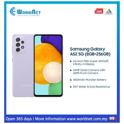"Samsung Galaxy A52 5G A526 6.5"" 8GB RAM + 256GB ROM 4500 mAh"