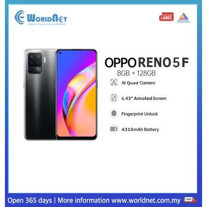 """Oppo Reno 5F 6.43"""" 8GB RAM + 128GB ROM 4310mAh"""