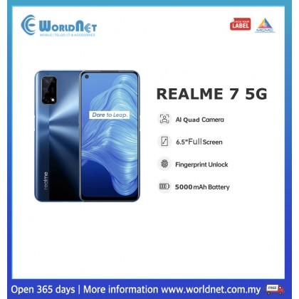"Realme 7 5G 6.5"" 8GB RAM + 128GB ROM 5000 mAh"