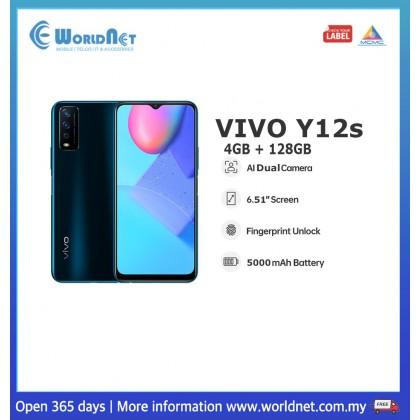 "Vivo Y12s 6.51"" 4GB RAM + 128GB ROM 5000mAh"