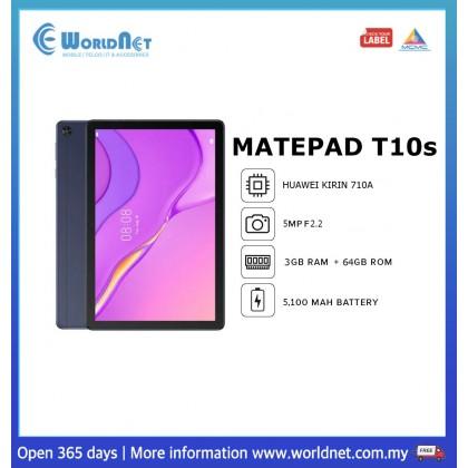 """Huawei Matepad T10s 10.1"""" 3GB RAM + 64GB ROM 5100 mAh"""