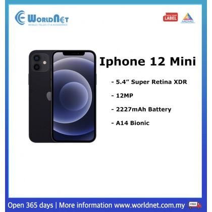 """Iphone 12 Mini 5.4"""" 128GB ROM + 4GB RAM   2227mAh"""