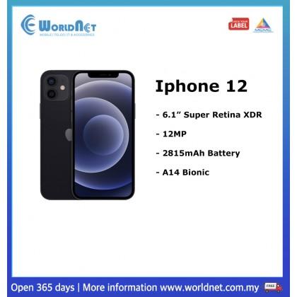 """Iphone 12 6.1"""" 64GB ROM + 6GB RAM  2815mAh"""
