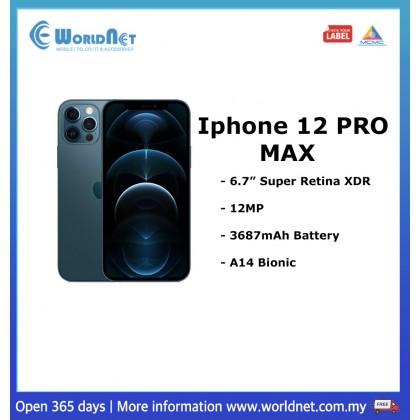"Iphone 12 Pro Max 6.7"" 256GB ROM + 6GB RAM 3687mAh"