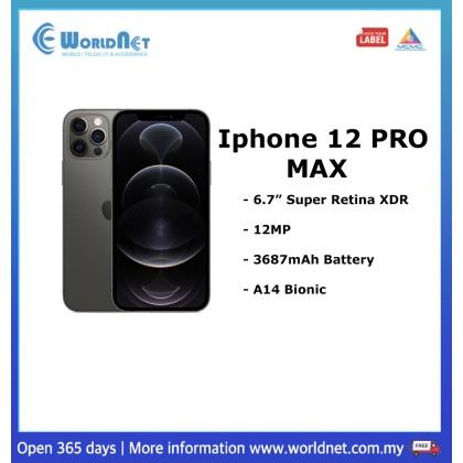 "Iphone 12 Pro Max 6.7"" 512GB ROM + 6GB RAM 3687mAh"